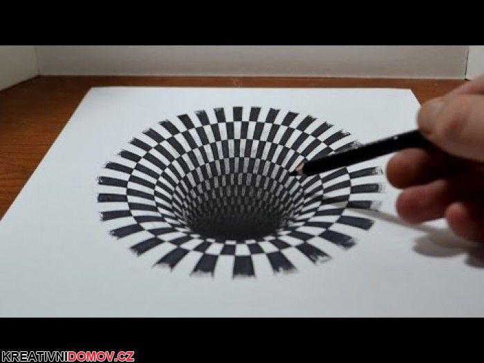 Kreslíme 3D propast