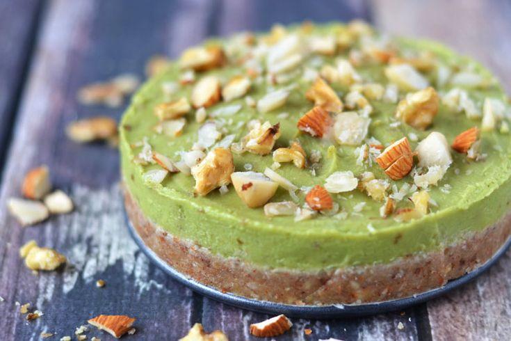 Limoen Avocado Taart - HealthiNut