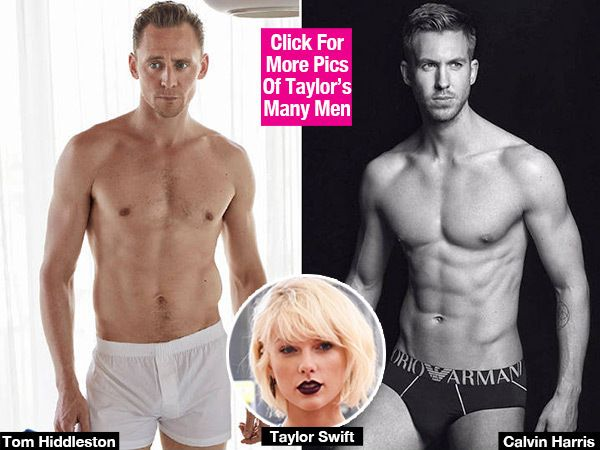 Tom Hiddleston Vs. Calvin Harris' Underwear Pics: Which Taylor Swift Beau Is Hotter?