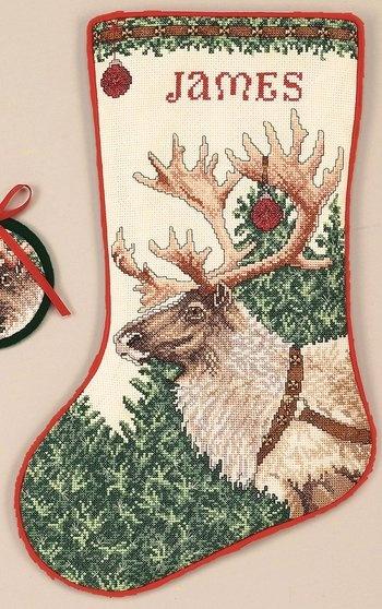 Counted Cross Stitch Kits Christmas Stockings