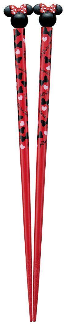 Amazon.co.jp: mascot with paint chopsticks 21cm Minnie Mouse Disney: Home & Kitchen