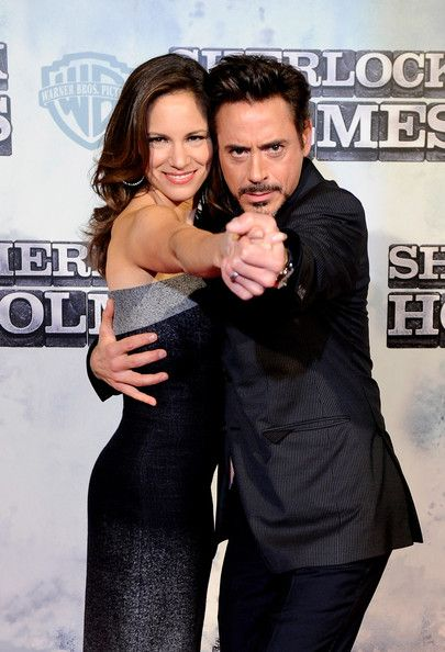 Robert Downey Jr and wife, Susan Downey