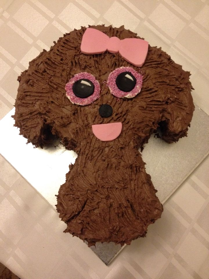 Maddy Beanie Boo chocolate cake                                                                                                                                                      More