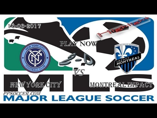 VIDEO New York City 1 - 1 Montreal Impact HIGHLIGHTS 18.03.2017 | PPsoccer