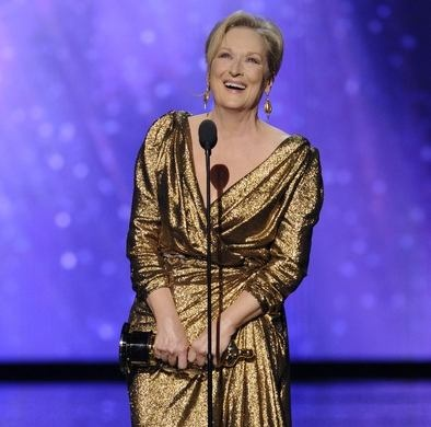 Ganadores Oscars 2012  Meryl Streep