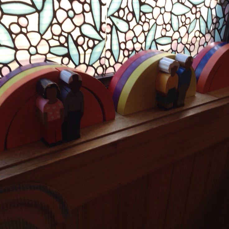 Our new rainbow arch blocks