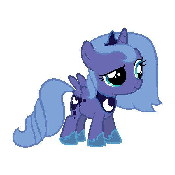 My little pony filly luna - photo#47