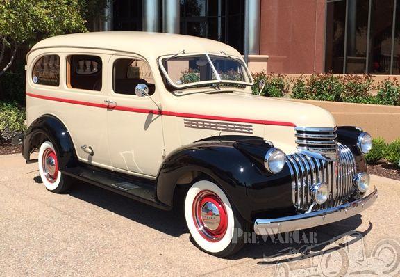 1941 Chevrolet Carryall Suburban