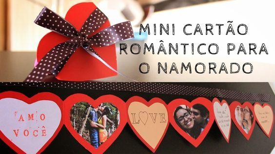 Cartão de Corações para o Dia Dos Namorados: