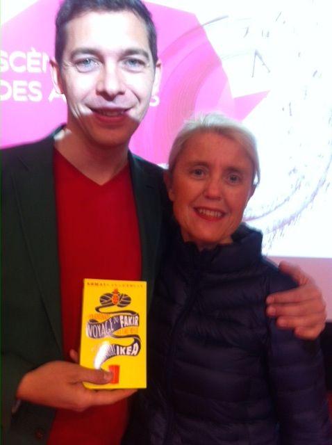 Romain Puertolas et Claire de la Loupe au SDL 2015