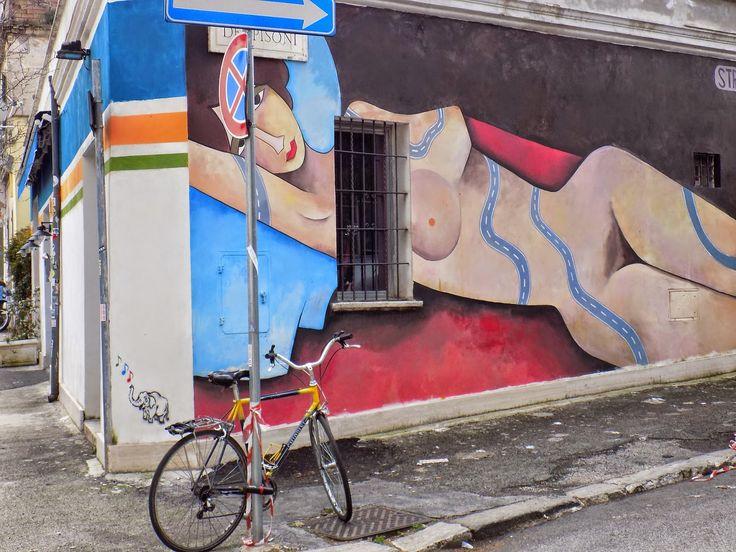"Viaggi con ricordi: ROMA: ""street art""! (2)"