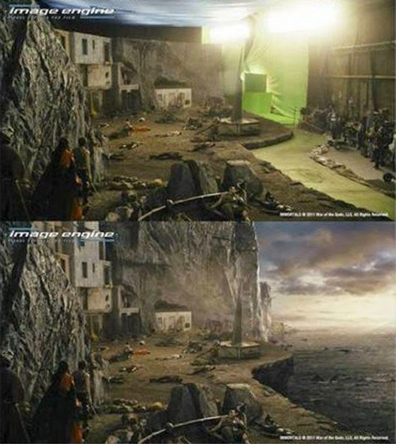 Best Green Screen Images On Pinterest Cuttings Technology - 20 before and after shots that show the magic of visual effects