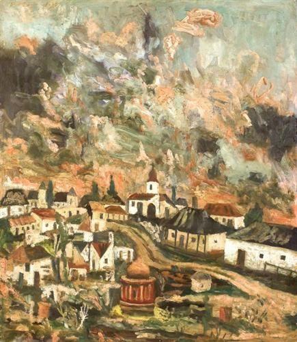Ancient Romanian Landscape II - Horia Bernea