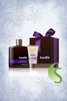 We love this 'Bodhi Love Relaxing Gift Set', containing a duo of Jasmine Falls Relaxing Bath & Shower Therapy and travel-size Relaxing Body Moisturiser.   A perfect luxury stocking filler! #SkinNutrition