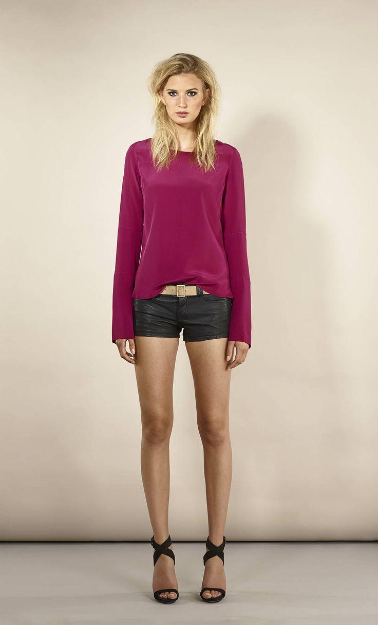 Kasumi blouse berry