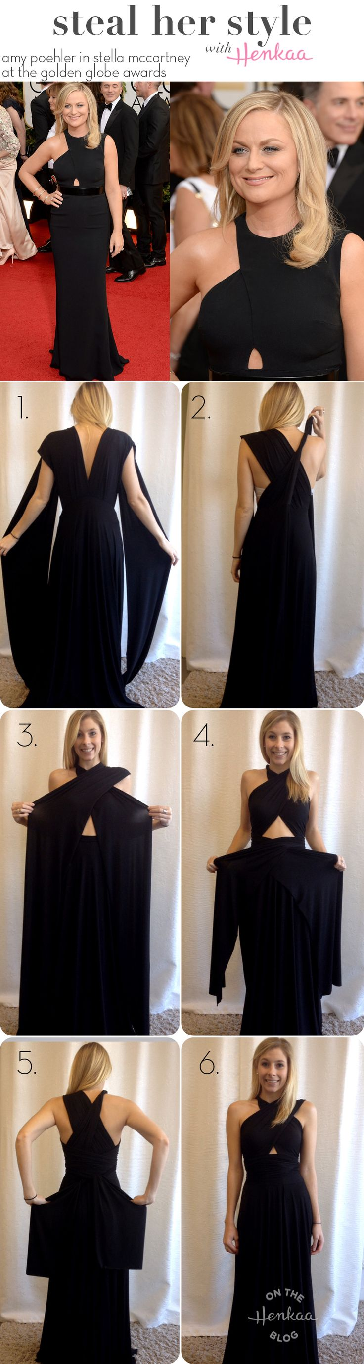 Long dress red carpet 1 step
