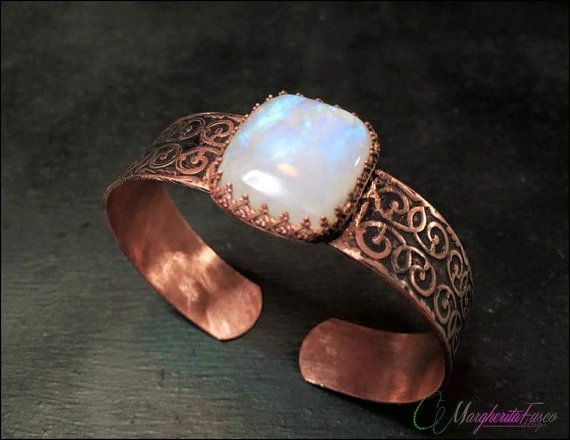White labradorite and copper handmade by 75marghe75 on Etsy