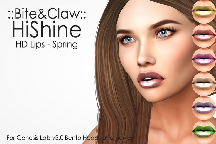 https://flic.kr/p/TM8Ssn | ::B&C:: HiShine Lips Spring  for RFLofSL2017 | Exclusive spring palette for sale only at Fantasy Faire 2017. 100% of profits go to Rfl of SL 2017
