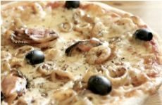 Пицца с морепродуктами - тайская кухня