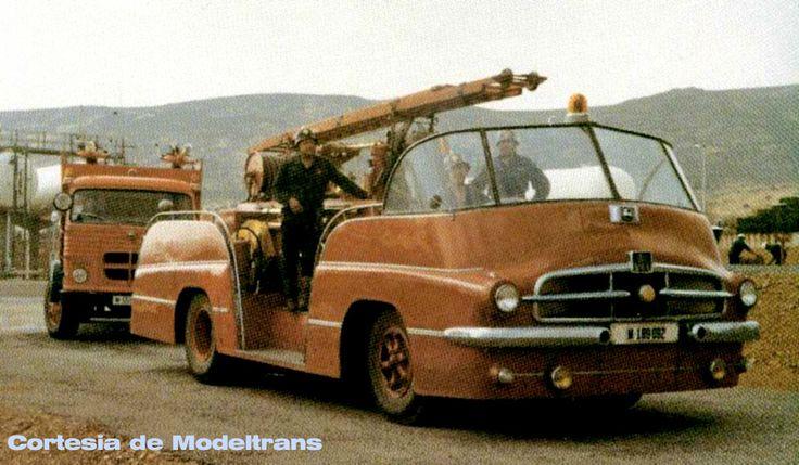 Pegaso 'Mofletes'  fire truck, Puertollano, Spain