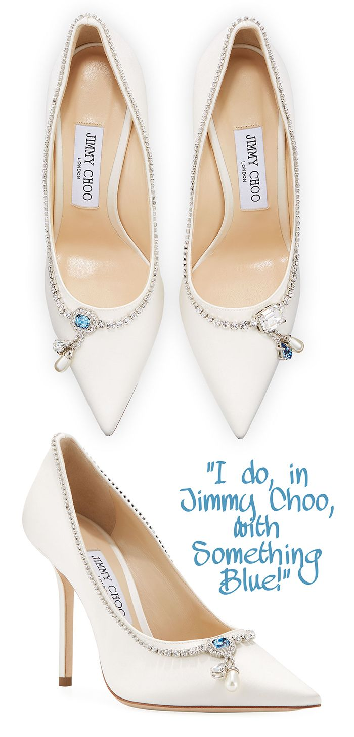 Jimmy Choo Bridal Shoes With Blue Stones There Are Many Things To