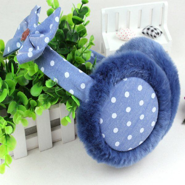 Chic Bow Embellished Various Pattern Women's Earmuff #men, #hats, #watches, #belts, #fashion, #style