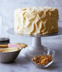 Maple-Walnut Cake