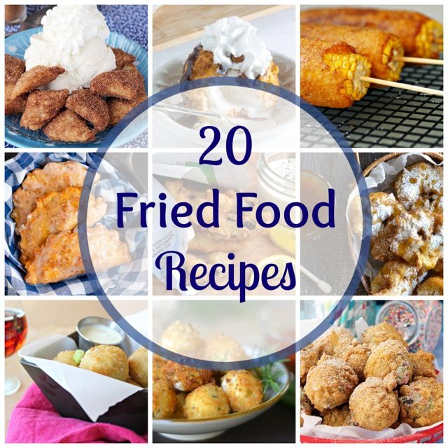 20 DEEP FRIED recipes! I'm talking deep fried corn on the cob, brisket fritters, cookie dough, and more.