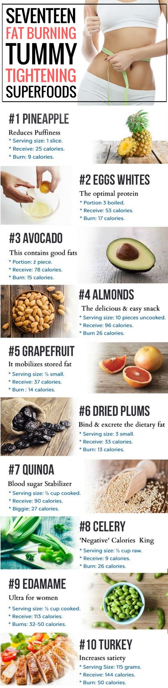 17 foods to eat if you want to lose weight fast.