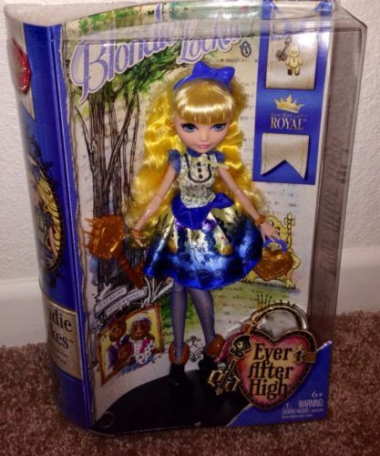 EVER AFTER HiGH BLONDIE LOCKES JUST RELEASED IN HAND NEW