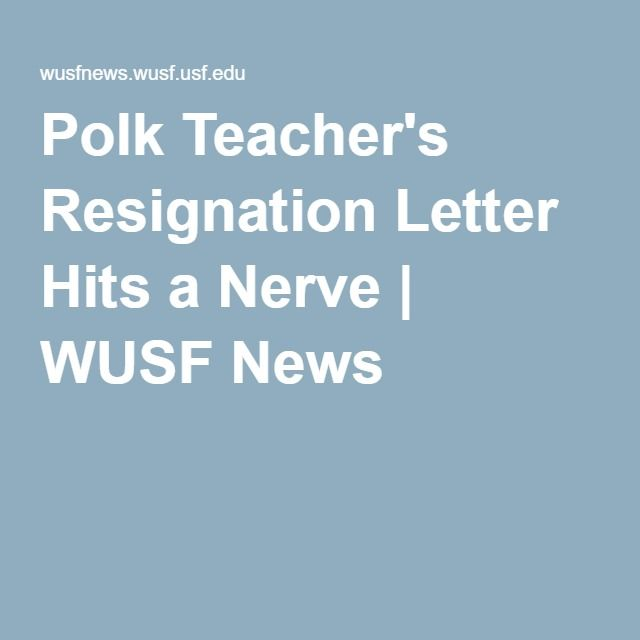 The 25+ best Teacher resignation letter ideas on Pinterest - letter of resignation teacher