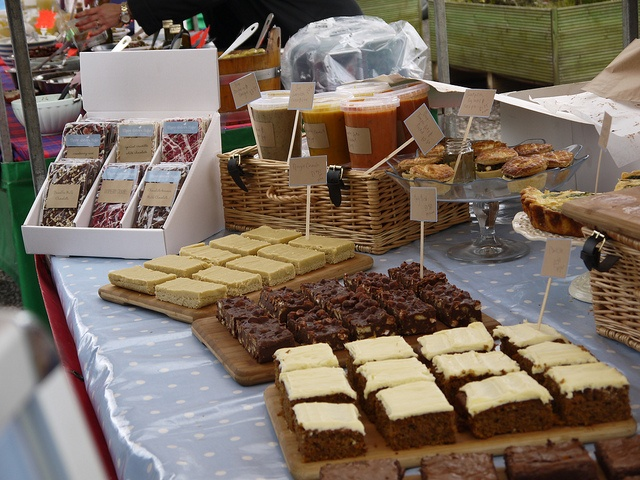 Three Sisters Bake Cakes by nickrobb1989, via Flickr    great looking pop up bakery stall - sweet and savoury