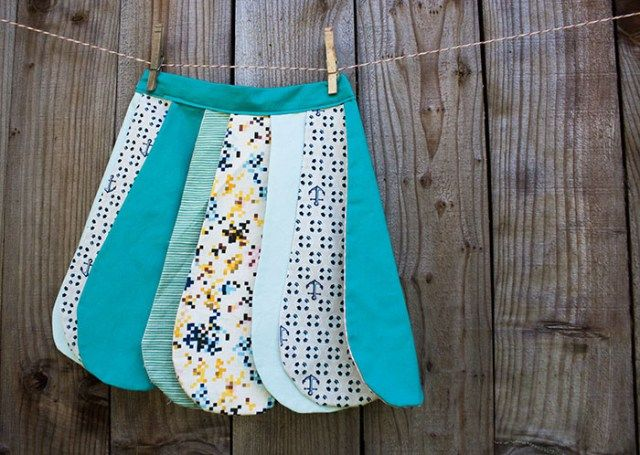DIY Reversible Petal Skirt (Free Pattern)