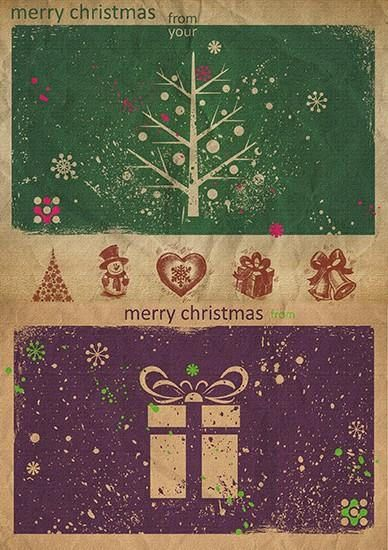Paper Decoupage Paper A4 NY-084 Christmas ART paper