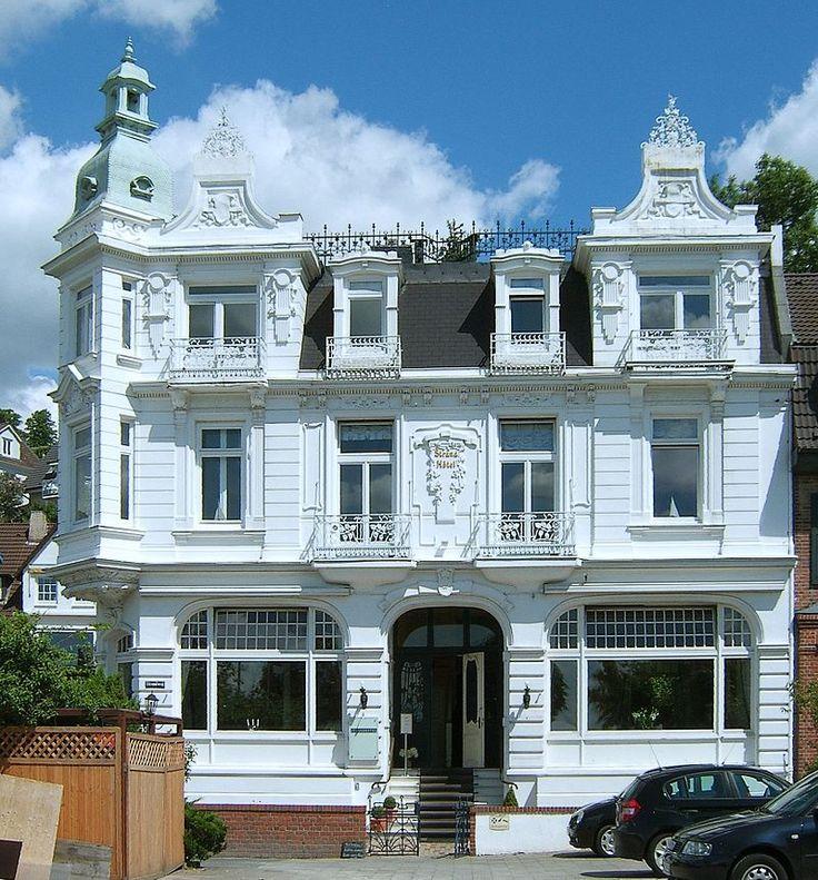die besten 25 historismus ideen auf pinterest art nouveau architektur jugendstil architektur. Black Bedroom Furniture Sets. Home Design Ideas