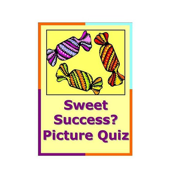Items Similar To 1947 Birthday Trivia Game: Sweet Success Candy Chocolate Picture Quiz Pack Quiz