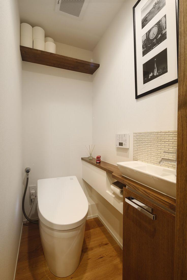 リフォーム・リノベーションの事例|トイレ|施工事例No.485無垢材と珪藻土の質感が心地よい。光と風がたっぷり届く引戸の暮らし|スタイル工房