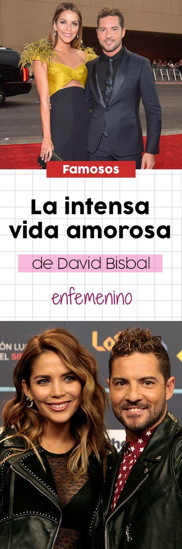 Repasamos las parejas de David Bisbal. #famosos #celebrities #parejas