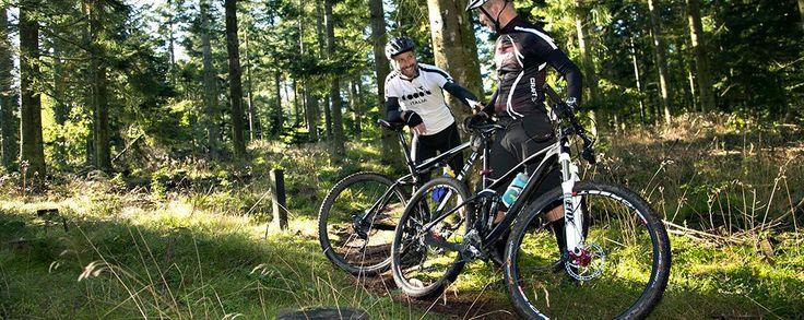 På Mountainbike i Toppen af Danmark   Toppenafdanmark