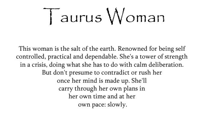 Quotes About Taurus Woman. QuotesGram