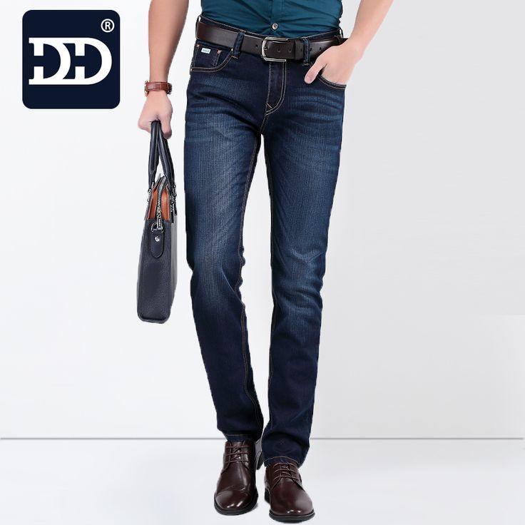 Big Size True Famous Brand Casual Straight Denim Jeans Men Pants Deep Blue  Pantacourt Homme Marque Jeans - Best price store