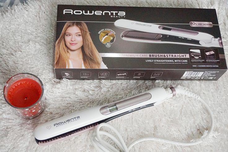 Despre placa de păr Rowenta Premium Care Brush & Straight