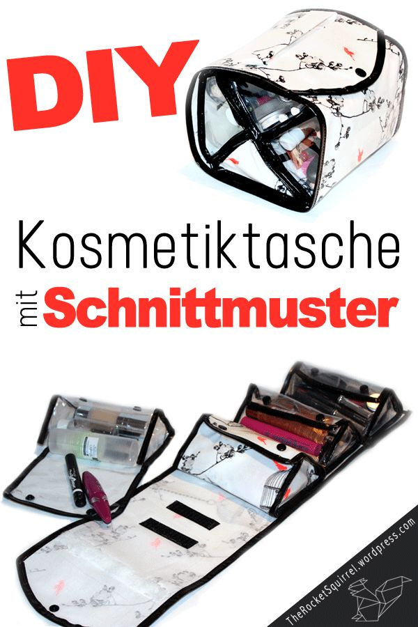 ber ideen zu schnittmuster kosmetiktasche auf. Black Bedroom Furniture Sets. Home Design Ideas