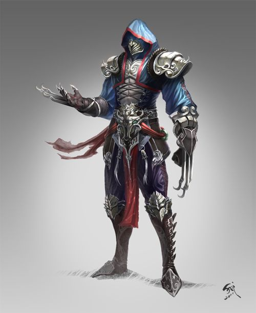XUANJI assassin by phoeni-x-man.deviantart.com on @deviantART
