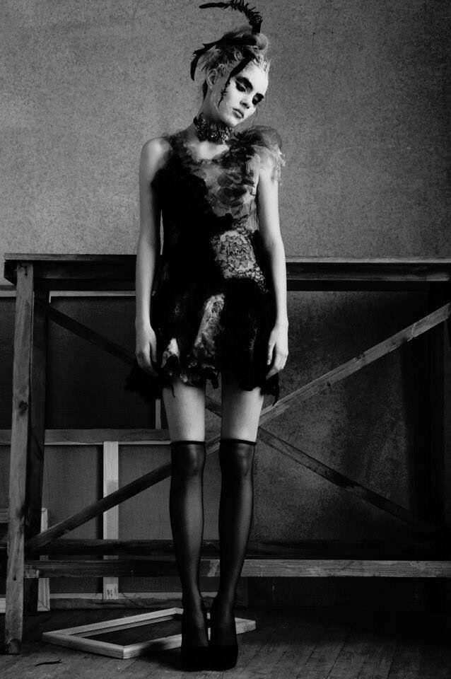 Hand made dress by Kremlyakova