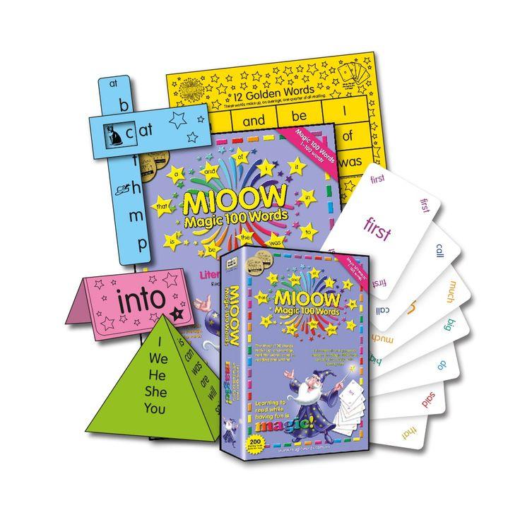 magic 100 words list pdf