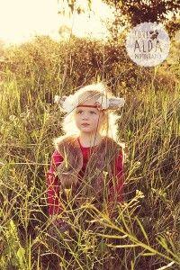 Deer, fawn, costume, woodlands, children, girl