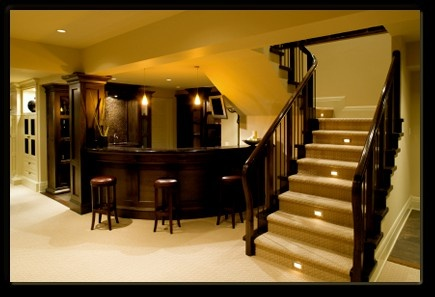 Basement: Dreams Basements, Dreams Houses, Basements Design, Finish Basements, Basements Bar, Basements Ideas, Bar Area, Mancave, Man Caves