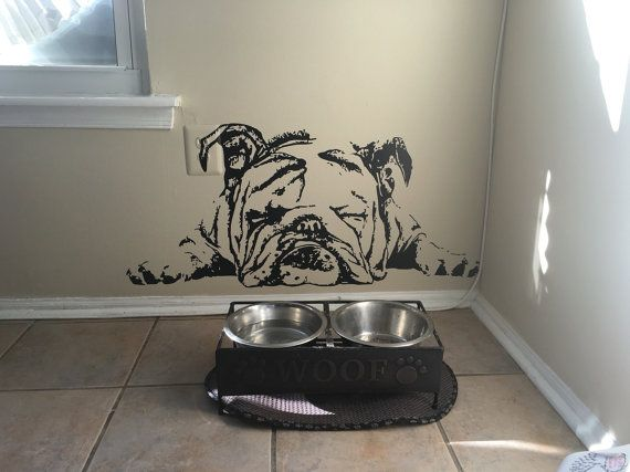 bulldog decal english bulldog decal english by BeaCreativeDesigner