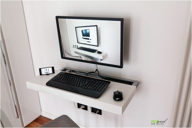 I'm happy to say that this article has been featured on ikeahackers.net and lifehacker.com. I was looking for a nice space-saving solution for my computer desk and I got inspired by  iMac-com…